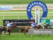 Sunnyside Cottage Places 4th At Warrnambool 90k Gold Strike Race Over 1000m Green Colours Number 9